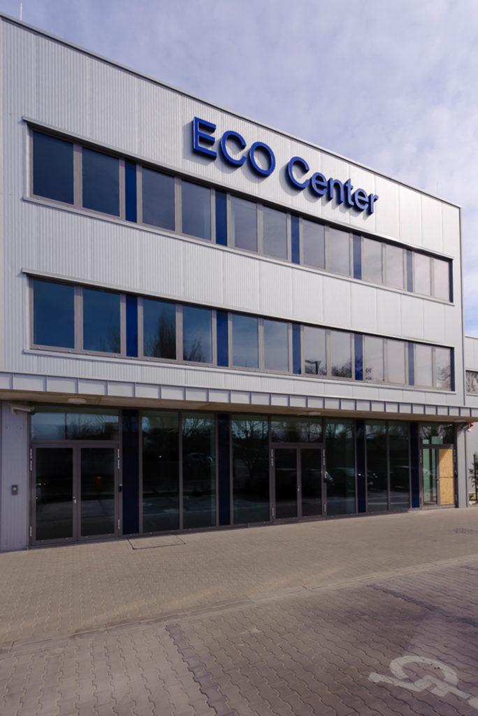 Reklámfelirat Eco Center