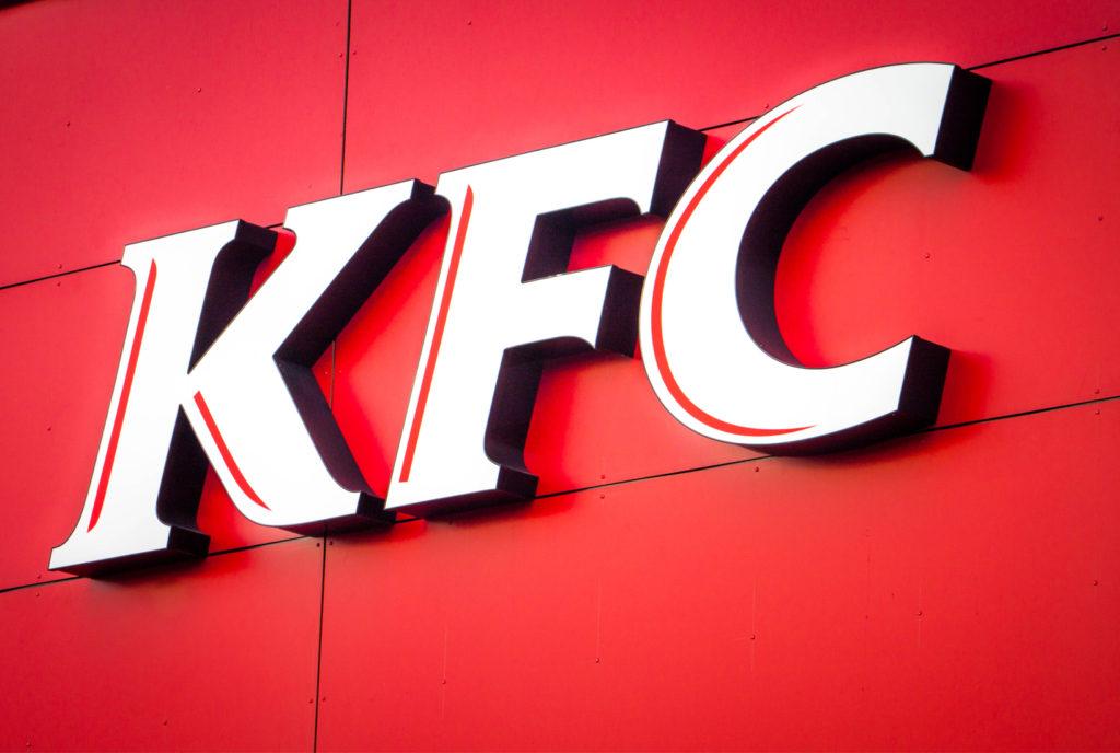 3d felirat dobozbetű KFC savoya bepro