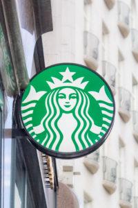 Cégér Starbucks