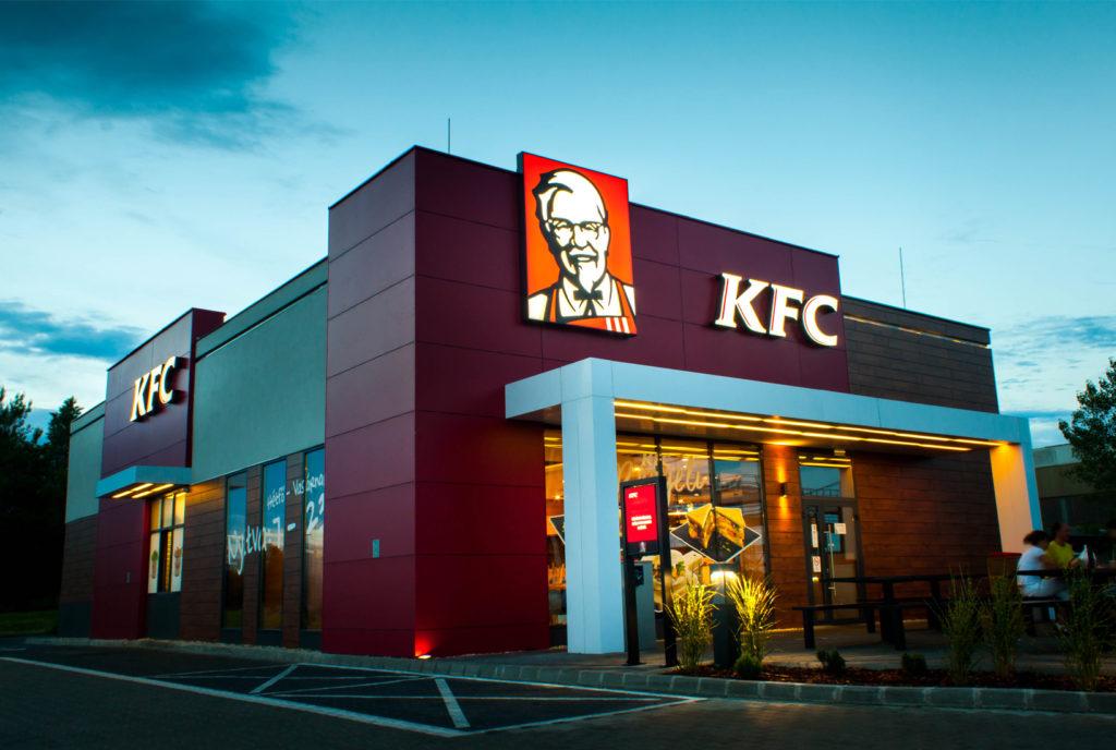 világító tábla 3d felirat dobozbetu reklamfelirat KFC savoya bepro