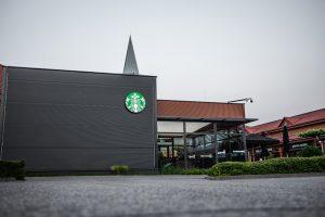 Starbucks channel letter sign logo 3D outlet