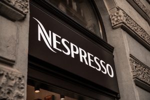 nespresso illuminated signboard bepro sign production