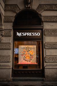 nespresso kávé világító tábla bepro reklám felirat